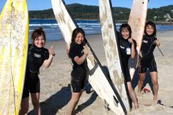 Surfen in Nossa