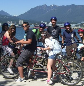 Schülersprachreise Kanada fü rJugendliche in internationaler Atmosphäre!